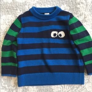 Adorable striped BabyGap sweater